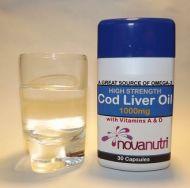 Cod Liver Oil 30 Capsules