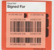 Royal Mail Recorded Delivery